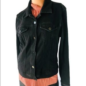 Liverpool Jeans Company Jacket Size Medium Black